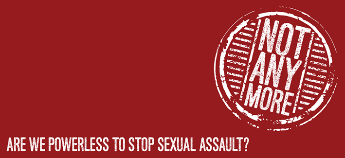 Not Anymore: sexual assault and violence education logo