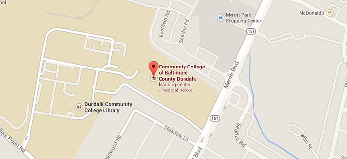 Google map of CCBC Dundalk
