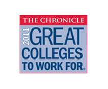 2011 Great Colleges to work for logo