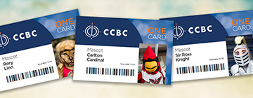 examples of ccbc's onecard