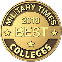 Image of the Military Times 2018 Best Colleges logo