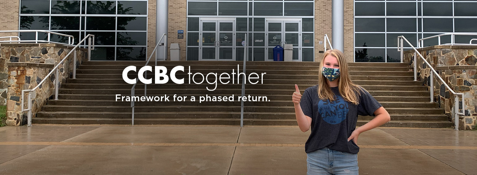 CCBC Together, a framework for a phased return