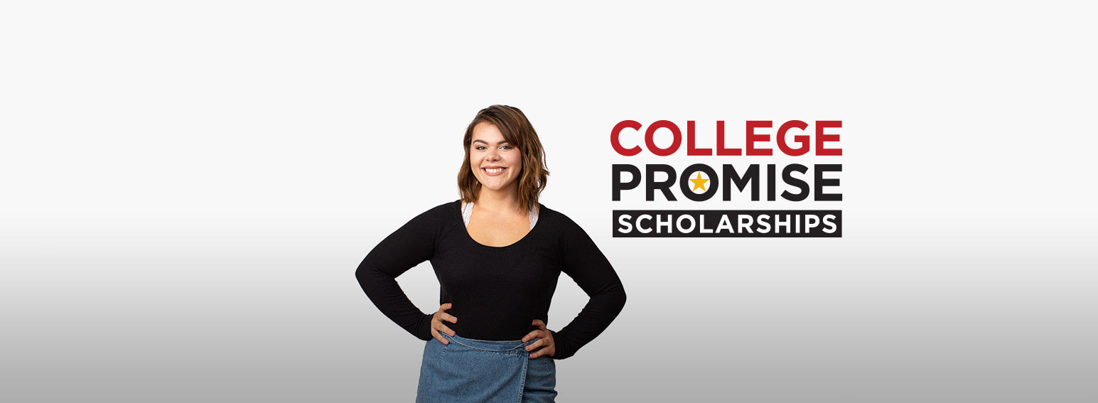 female ccbc student who received a college promise scholarship